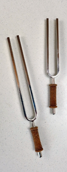 Tuning forks for frequency healing / phonophoresis